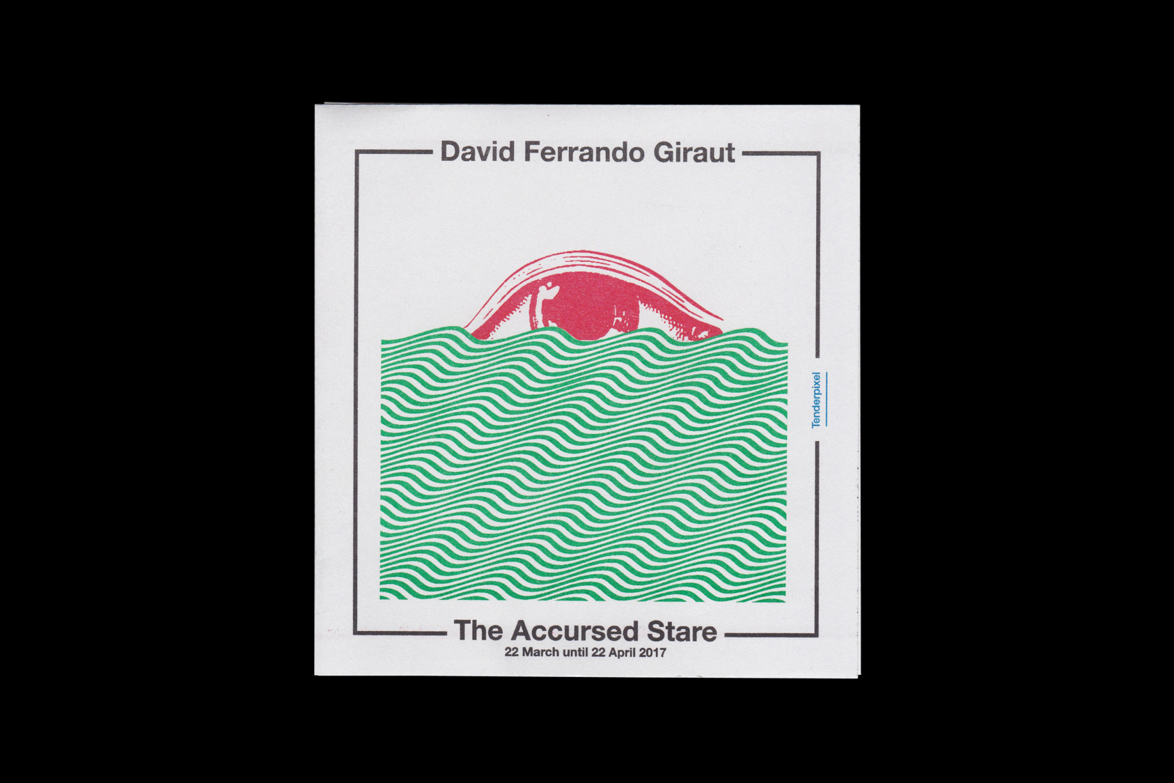 The Accursed Stare - a publication for David Ferrando Giraut and Tenderpixel and gallery, 2017 by the agency for emerging ideas