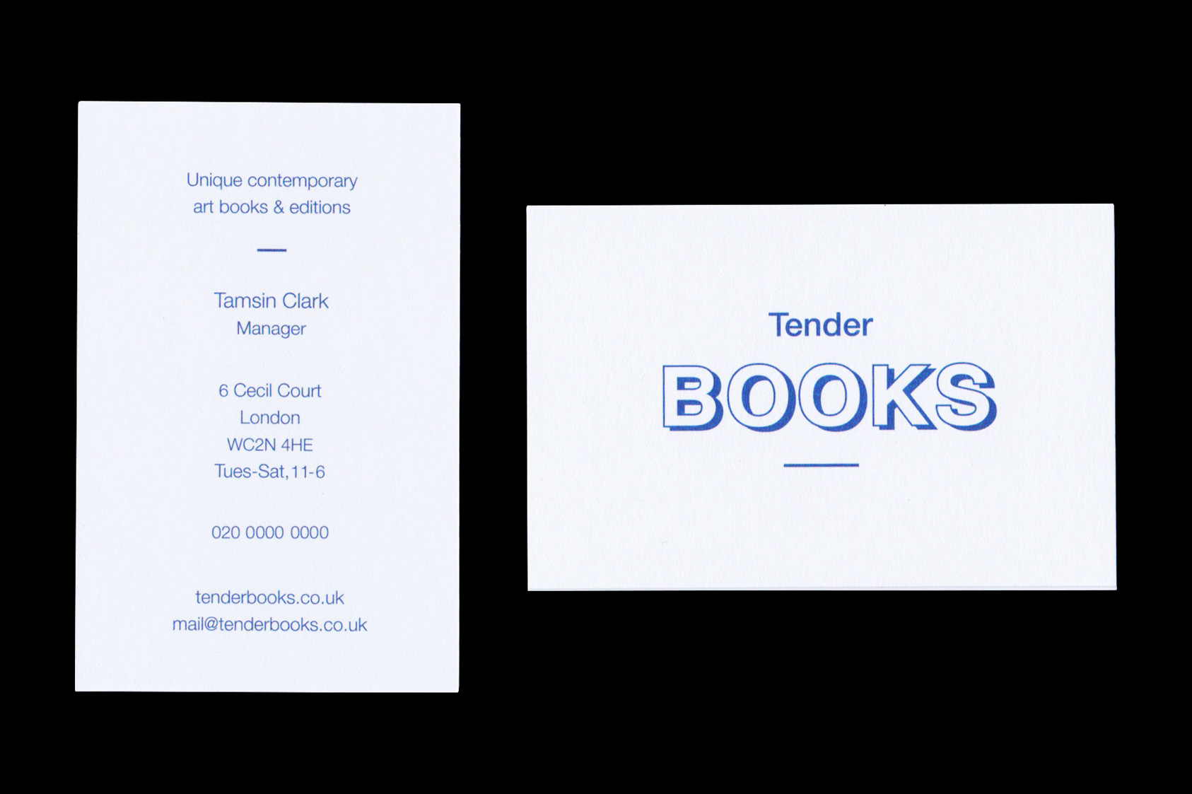 tenderbooks  by the agency for emerging ideas