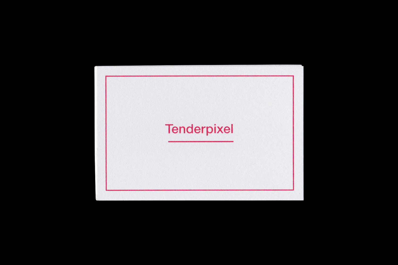 Tenderpixel identity  by the agency for emerging ideas